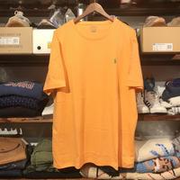 【 残り僅か】POLO RALPH LAUREN smallpony tee (Light Orange)