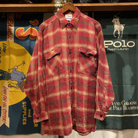RUGGED on Vintage pocket check shirt (L)