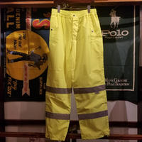 【ラス1】SUMAGGO reflector nylon pants (Neon Yellow)