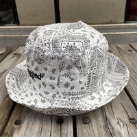 """rugged®︎"" logo bucket hat (White)"