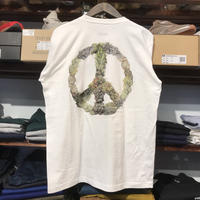 "【残り僅か】RUGGED ""PEACE BUDS""  L/S tee (White)"