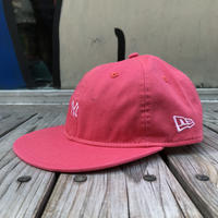 "【ラス1】NEWERA ""small NY logo"" adjuster cap(Light Pink)"