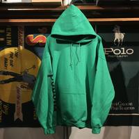 """RUGGED """"rugged®︎"""" sleeve logo hoodie (Green)"""