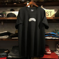"【残り僅か】RUGGED ""POUNDING THE ROCK"" tee  (Black)"