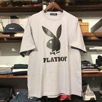 【ラス1】PLAYBOY rabbit logo tee (Fog gray)