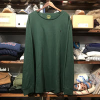 【 ラス1】POLO RALPH LAUREN smallpony L/S tee (Dark Green)