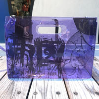 【残り僅か】AKIRA Art of Wall x nana-nana A4 Clear Bag (Purple)