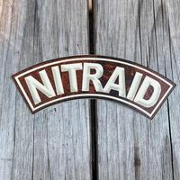 "NITRAID ""CITY MASK"" sticker"