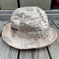 """""""rugged®︎"""" logo bucket hat (Beige)"""