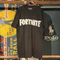 FORTNITE logo print tee (Black)