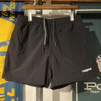 """【ラス1】RUGGED """"rugged®️"""" nylon shorts (Black)"""