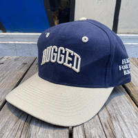 """RUGGED """"SMALL ARCH"""" bi-color adjuster cap (Navy)"""