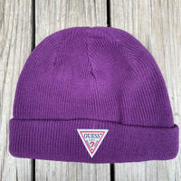 【ラス1】GUESS knit cap (purple)