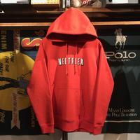 """【残り僅か】RUGGED """"NEET FLEX"""" sweat hoodie (Red/10.0oz)"""