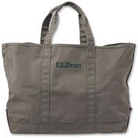 L.L.Bean logo embroidery tote bag (Khaki)