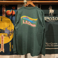 "【ラス1】RUGGED ""L.S.Dean"" L/S tee (Ivy Green)"