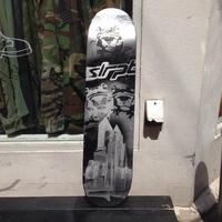 """【exclusive】VisualReports """"Eight"""" original stencil skateboard deck"""