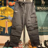 """【残り僅か】RUGGED """"rugged®︎"""" Nylon cargo pants (Black)"""