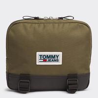 【WEB限定/ラス1】TOMMY HILFIGER URBAN VARSITY bag (Olive)