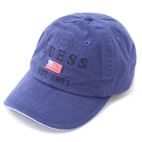【web限定】GUESS 81 original adjuster cap (Navy)