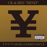 "CK&BES ""MIND"" (music by MURO&COOKIN' SOUL) 7inch vinyl"