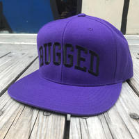 【残り僅か】RUGGED ''ARCH LOGO'' snapback (Purple)