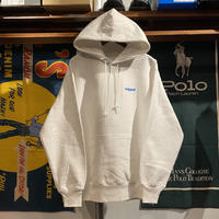"RUGGED ""rugged®︎"" reverse weave sweat hoodie (White/12.0oz)"