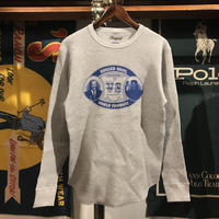 "【残り僅か】RUGGED ""SHOW ME YA WEAPON "" heavy weight thermal  (Gray/10.3oz)"
