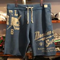 【ラス1】DENIM&SUPPLY cut off sweat shorts