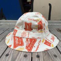 【ラス1】Miller High Life logo pattern bucket hat (L)
