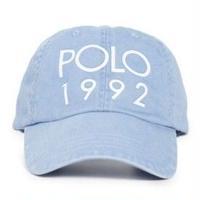 """【ラス1】POLO RALPH LAUREN """"1992"""" cotton  twill sport cap (Blue)"""
