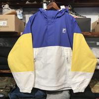 【ラス1】FILA anorak mesh pocket wind jacket (Blue)