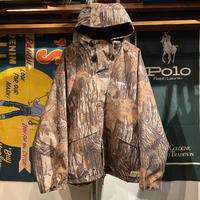 """RUGGED on Vintage """"ARCH LOGO"""" real tree jacket (Brown)"""
