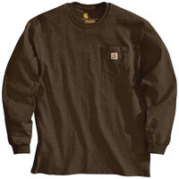 【ラス1】Carhartt L/S pocket tee (Dark Brown)