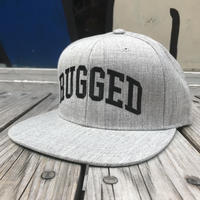 【残り僅か】RUGGED ''ARCH LOGO'' snapback (Gray)
