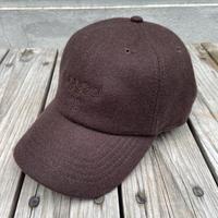 """【ラス1】RUGGED """"BOUTIQUE LOGO"""" adjuster cap (Brown)"""