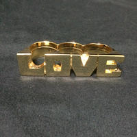 "【ラス1】RUGGED ""LOVE"" ring (Made in Japan)"