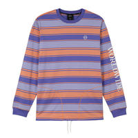 "【残り僅か】HUF ""ESSEX"" L/S KNIT TOP (Canyon Sunset)"