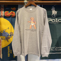 "【ラス1】RUGGED ""POLO JINGI"" L/S tee (Gray)"