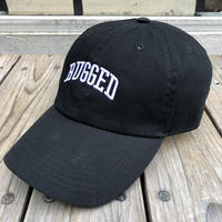 【残り僅か】RUGGED ''ARCH LOGO'' adjuster cap (Black)