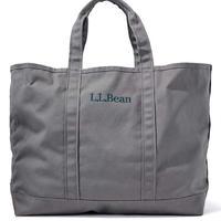 【残り僅か】L.L.Bean logo embroidery tote bag (Gray)