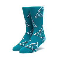 【ラス1】HUF BONER TRIANGLE SOCK (BISCAY BAY)