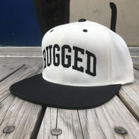 【残り僅か】RUGGED ''ARCH LOGO'' snapback (Black × White)