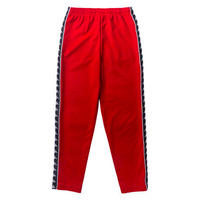 "【ラス1KAPPA ""BANDA"" track pants (Red)"