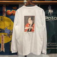 """【残り僅か】RUGGED """"男女蔵"""" L/S tee (White)"""