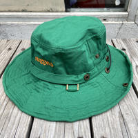 "【残り僅か】RUGGED ""rugged®︎"" logo string bucket hat (Green)"