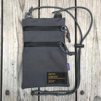【ラス1】RUGGED sacosh bag (Gray)