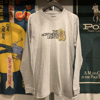 "【残り僅か】RUGGED ""THE NORTHERN LIGHTS""  L/S tee (Gray)"