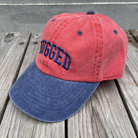 """【残り僅か】 RUGGED """"ARCH LOGO"""" adjuster  cap (Red)"""
