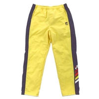 【ラス1】FILA side line cotton blend nylon pants (Yellow)